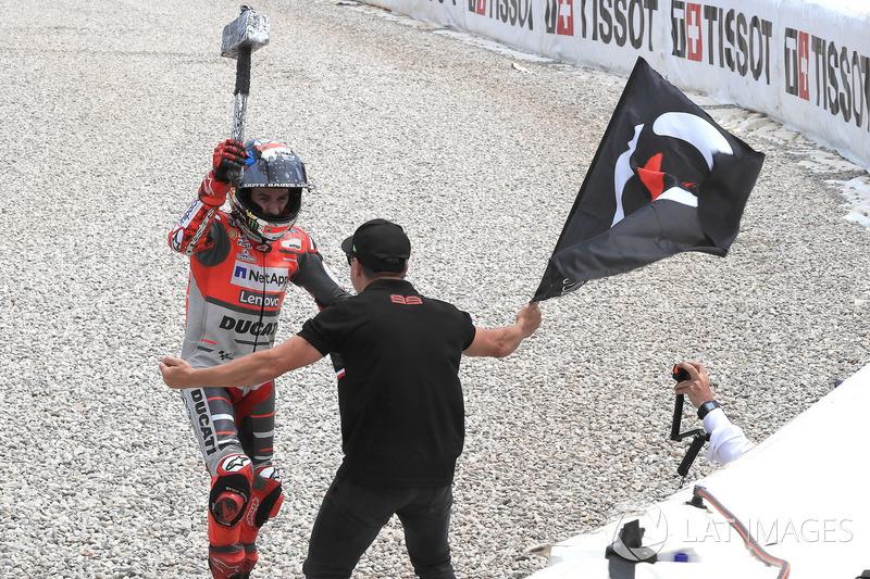 7. Гран Прі Каталонії - переможець Хорхе Лоренсо, Ducati Team