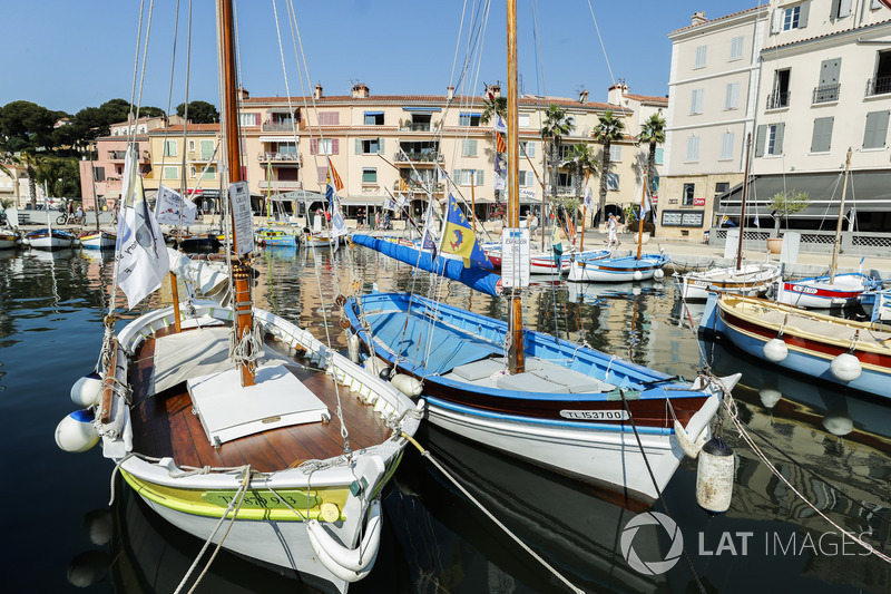 Barche nella marina di Sanary sur Mer