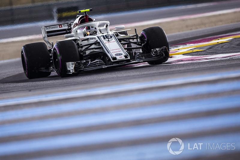 10 місце — Шарль Леклер, Sauber. Умовний бал — 9,36
