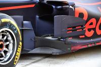 Un déflecteur de la Red Bull Racing RB13