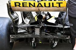 L'arrière de la R.S. 18, Renault Sport F1 Team