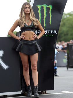 Grid girl Monster Energy