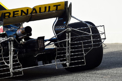 Renault Sport F1 Team RS18, con griglie di sensori al posteriore