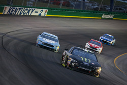 Kurt Busch, Stewart-Haas Racing, Ford Fusion Monster Energy / Haas Automation, Kevin Harvick, Stewart-Haas Racing, Ford Fusion Busch Light, Ryan Blaney, Team Penske, Ford Fusion DEX Imaging, e Kyle Larson, Chip Ganassi Racing, Chevrolet Camaro Credit One Bank