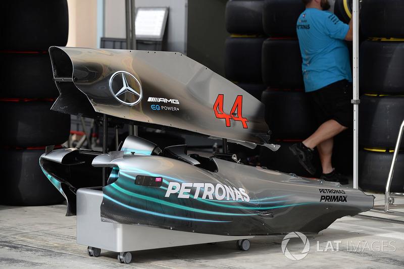 Bodywork Mercedes-AMG F1 W09