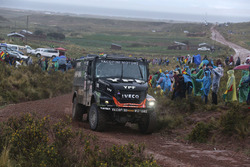 #501 Team De Rooy Iveco: Federico Villagra, Ricardo Torlaschi, Adrian Yacopini