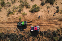 #331 Toyota: Sebastian Halpern, Edu Pulenta, #308 Peugeot Sport Peugeot 3008 DKR: Cyril Despres, David Castera