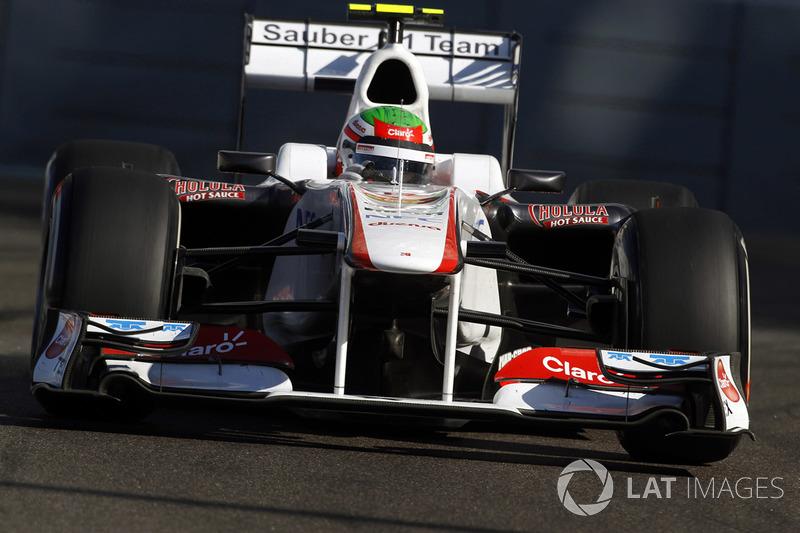 2011 : Sauber C30, à moteur Ferrari
