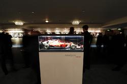 An model of a Sebastian Vettel Ferrari