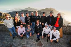Gruppenfoto: Fahrer der WRX-Saison 2018