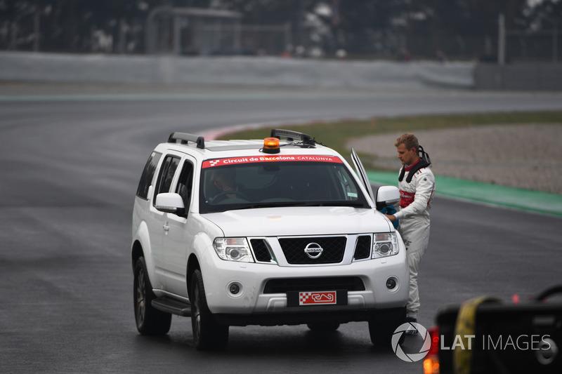 Гонщик Alfa Romeo Sauber Маркус Эрикссон