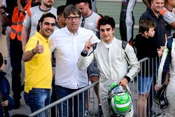Race winner Caio Collet, SILBERPFEIL Energy Dubai