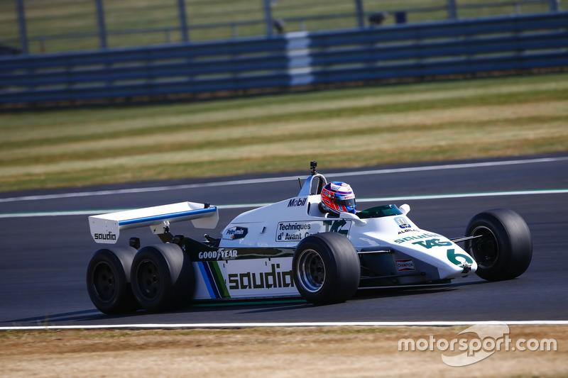 Jenson Button - 1982 Williams FW08B