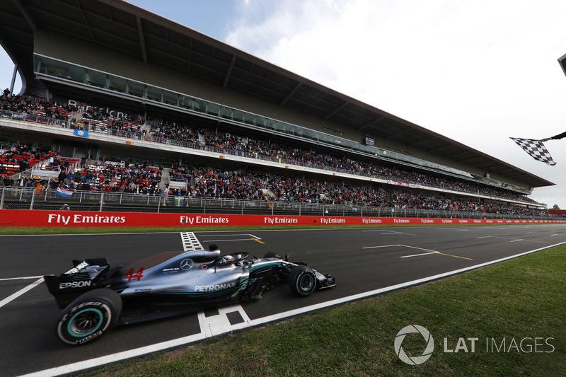 GP de España: Lewis Hamilton (Ganó la carrera)