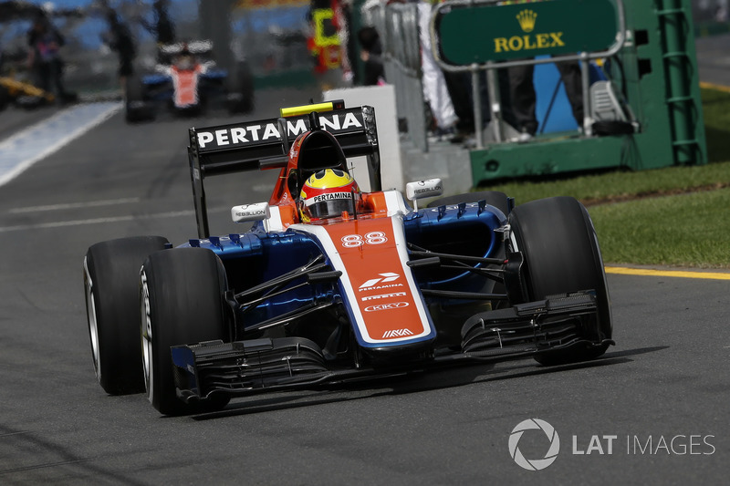 2016: Manor MRT05 Mercedes-Benz, Formula 1