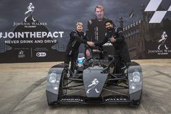 Mika Hakkinen with Rannvijay Singha