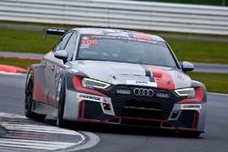 #106 Excelr8 Motorsport Audi RS3 LMS SEQ: David Marcussen, Akhil Rabindra, Sandy Mitchell, Stuart Hall, James kaye