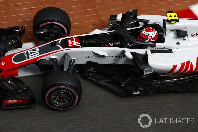 19: Kevin Magnussen, Haas F1 Team VF-18, 1'13.393