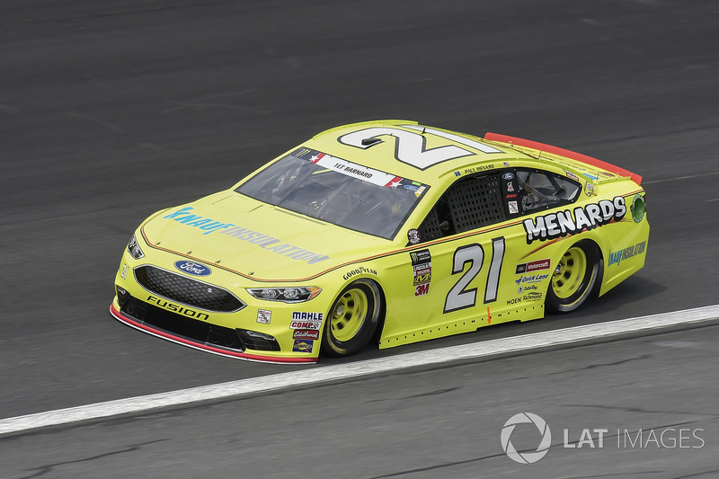 14. Paul Menard, Wood Brothers Racing, Ford Fusion Menards / Knauf