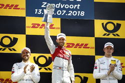Podyum: Yarış galibi René Rast, Audi Sport Team Rosberg, 2. Gary Paffett, Mercedes-AMG Team HWA, 3. Paul Di Resta, Mercedes-AMG Team HWA