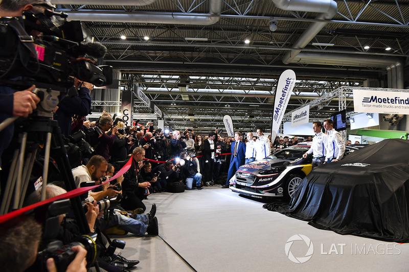 Présentation de la Ford Fiesta WRC 2018