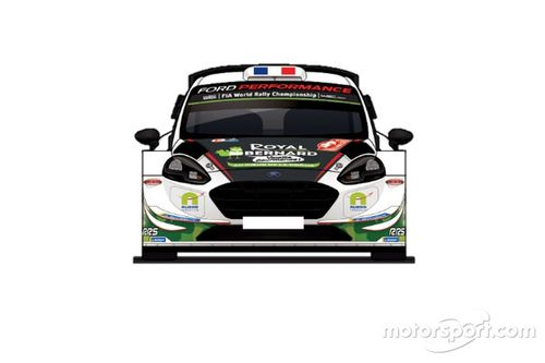 Bryan Bouffier M-Sport livery unveil