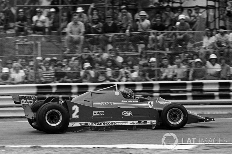 Gilles Villeneuve, Ferrari 126C