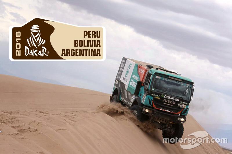 Дакар-2018 вантажівки
