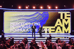 Mick Doohan, Toto Wolff, Mercedes AMG F1