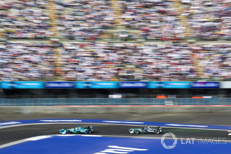 Antonio Felix da Costa, Andretti Formula E Team. Mitch Evans, Jaguar Racing