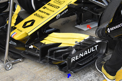 Renault F1 Team RS18 detail front wing