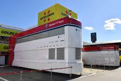 Alfa Romeo Sauber F1 Team trucks