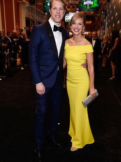 Brad Keselowski e la moglie Paige