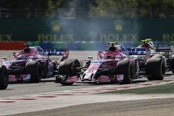 Серхіо Перес, Force India VJM11, попереду суперників