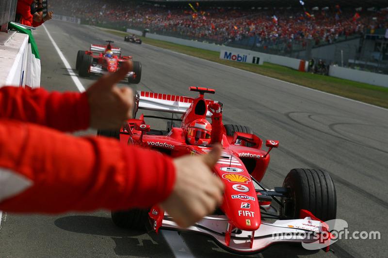 89勝目:2006年ドイツGP