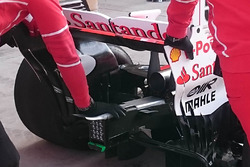 Ferrari SF70H rear detail
