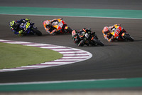 Johann Zarco, Monster Yamaha Tech 3, Marc Marquez, Repsol Honda Team, Dani Pedrosa, Repsol Honda Team, Valentino Rossi, Yamaha Factory Racing