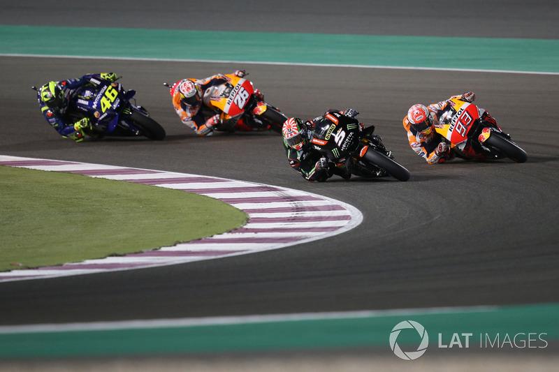 Жоан Зарко, Monster Yamaha Tech 3, и Марк Маркес, Repsol Honda Team