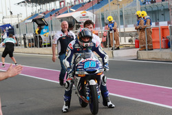 Le vainqueur Jorge Martin, Del Conca Gresini Racing Moto3
