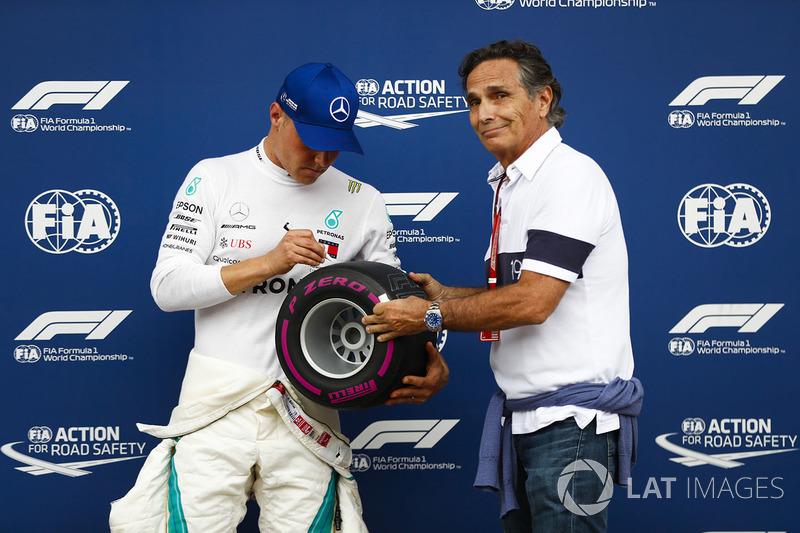Валттері Боттас, Mercedes AMG F1, Нельсон Піке