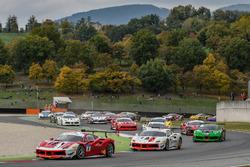 #8 Octane 126 Ferrari 488: Fabio Leimer leads