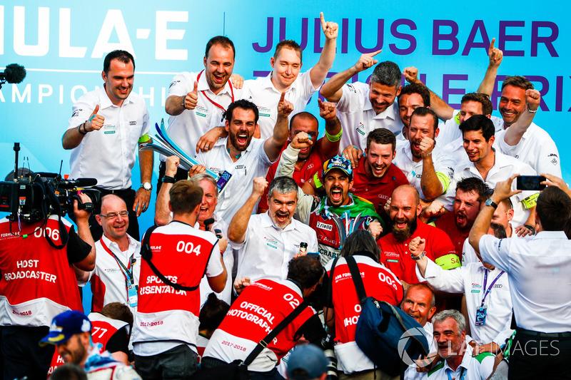 Lucas di Grassi, Audi Sport ABT Schaeffler, wins the Zurich ePrix
