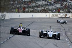Роберт Уикенс, Schmidt Peterson Motorsports Honda, и Джозеф Ньюгарден, Team Penske Chevrolet