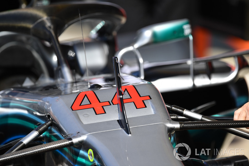 Mercedes-AMG F1 W09 nose