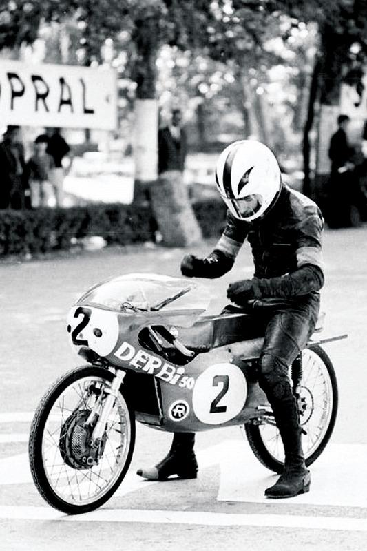 Angel Nieto Derbi 1969