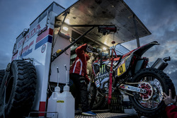 Monster Energy Honda Team preparations