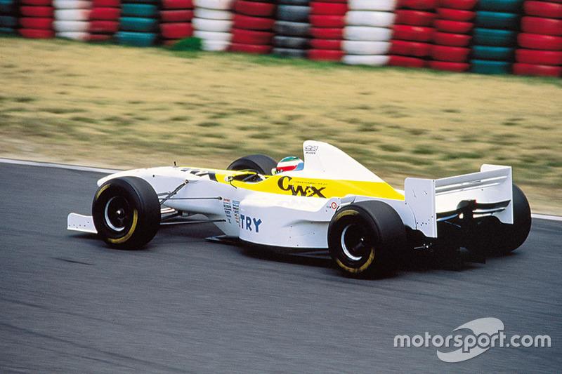 Marco Apicella, Dome F105 at Dome F105 unveil - Formula 1 Photos
