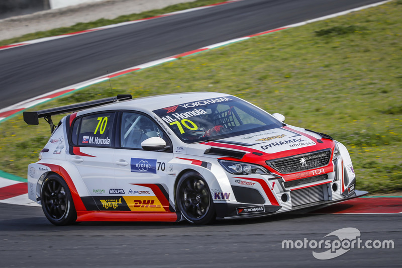 Матьо Гомола, DG Sport Competition Peugeot 308TCR
