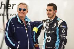 Jean Paul Driot mit Sébastien Buemi, Renault e.Dams