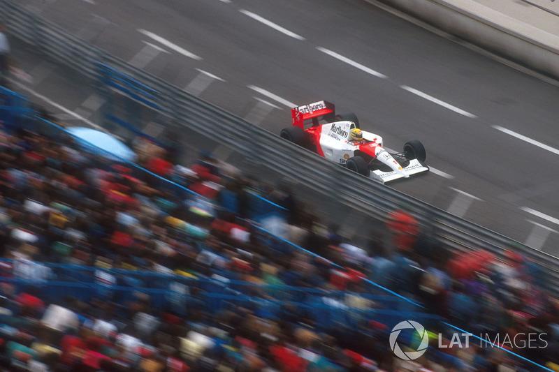 1991 - Ayrton Senna, McLaren-Honda